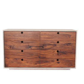 White Oak Draw unit with dark faced draws