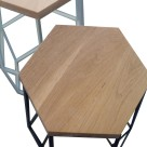 wire-wood-stool-hexframe