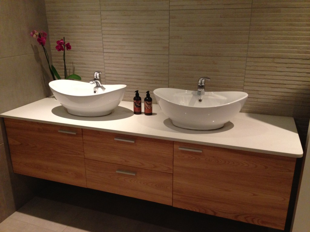 The Goodwood Co Double Sink Contemporary Vanity The