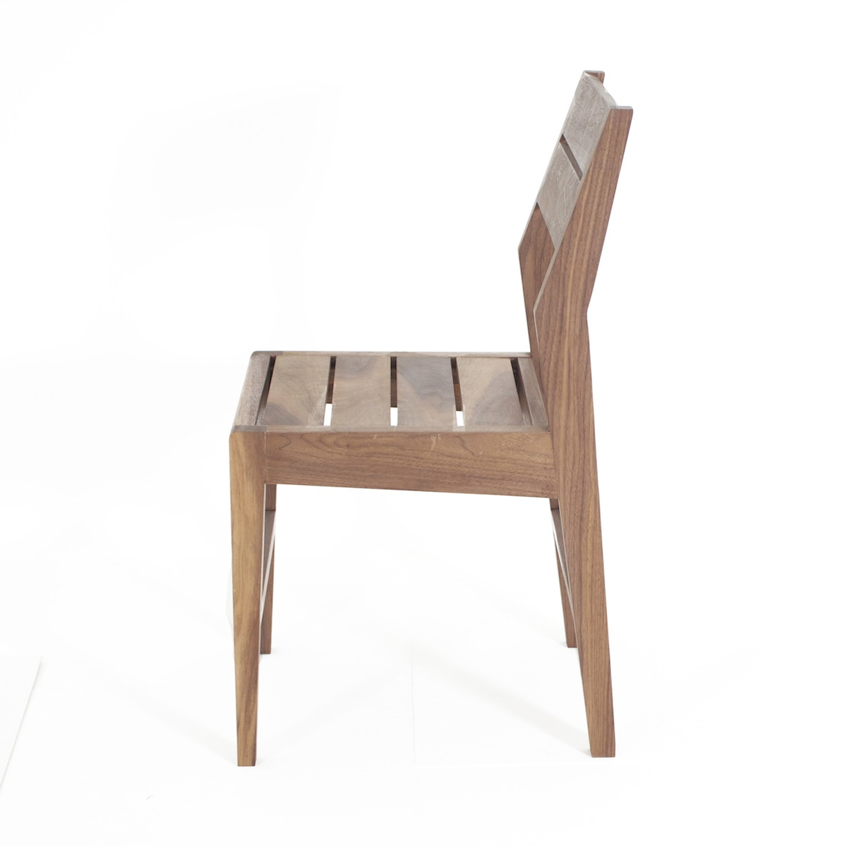 Wooden chair side chat de baito