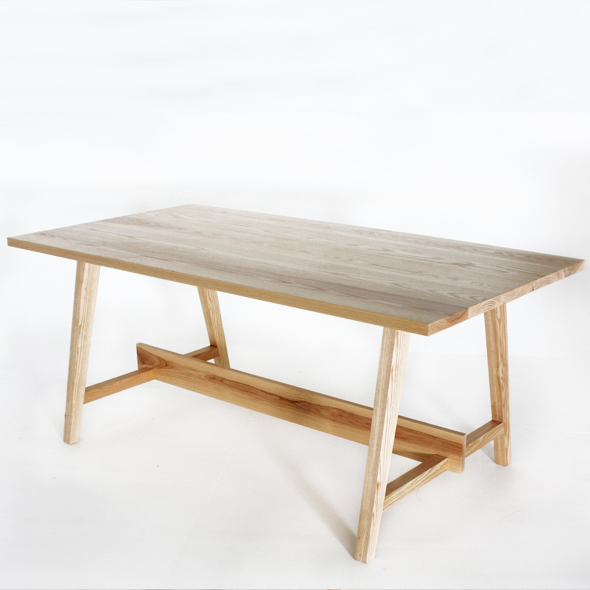Ash Wood Furniture ~ The goodwood co urban table in american ash wood