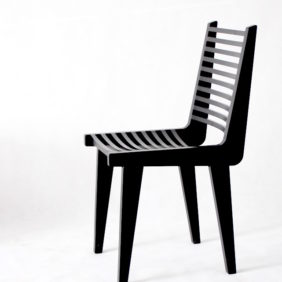 Chair_black_ZEBRA_side